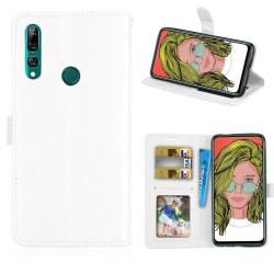 Mobilplånbok 3-kort Huawei P Smart Z (STK-LX1) Vit