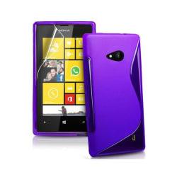 S Line silikon skal Microsoft Lumia 535 (RM-1091) Lila