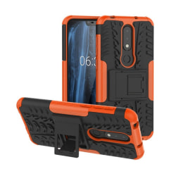 Stöttåligt skal med ställ Nokia 6.1 Plus (TA-1083) Orange