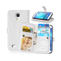 Dubbelflip Flexi 9-kort Samsung Galaxy S4 (GT-i9500) Vit