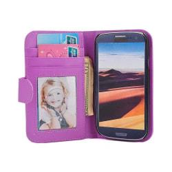 Mobilplånbok Foto Samsung Galaxy S3 (GT-i9300) Lila