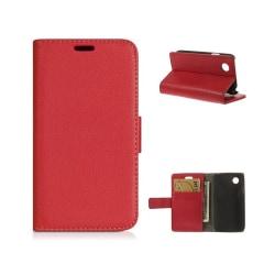 Mobilplånbok 2-kort LG L40 (D170) Röd
