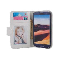 Mobilplånbok Foto Samsung Galaxy S3 (GT-i9300) Vit