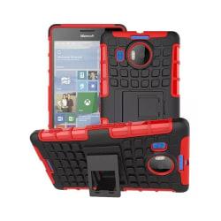 Stöttåligt skal med ställ Microsoft Lumia 950XL (RM-1116) Röd