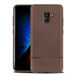Rugged Armor TPU skal Samsung Galaxy A8 Plus 2018 (SM-A730F) Brun