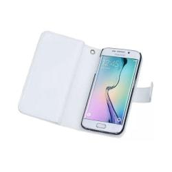 Dubbelflip Magnet 2i1 Samsung Galaxy S6 Edge (SM-G925F) Vit
