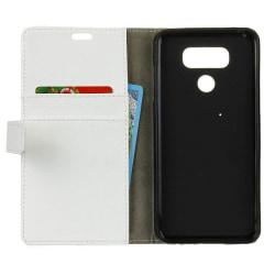 Mobilplånbok 2-kort LG V40 ThinQ (LM-V405) Vit