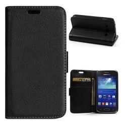 Mobilplånbok 2-kort Samsung Galaxy Trend 2 (SM-G313H) Svart