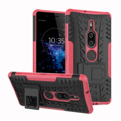 Stöttåligt skal med ställ Sony Xperia XZ2 Premium (H8166) Rosa