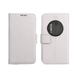 Mobilplånbok 2-kort Nokia Lumia 1020 (RM-875) Vit