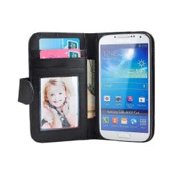 Mobilplånbok 3-kort Samsung Galaxy S4 (GT-i9500) Svart