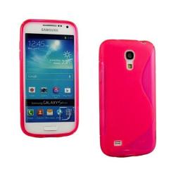 S Line silikon skal Samsung  Galaxy S4 Mini (GT-i9190) Rosa