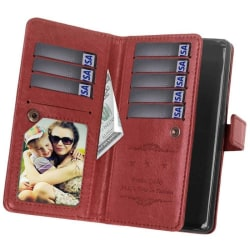 Dubbelflip Flexi 9-kort Sony Xperia L2 (H3311) Brun