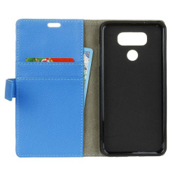 Mobilplånbok 2-kort LG V40 ThinQ (LM-V405) Blå