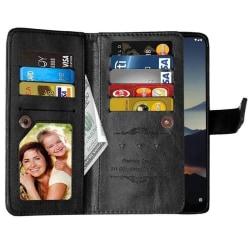 Dubbelflip Flexi 9-kort Nokia 7.2 (TA-1178) Svart