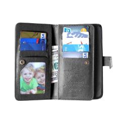 Dubbelflip Flexi 9-kort Motorola Moto X Style (XT1570) Svart