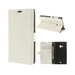 Mobilplånbok 2-kort Microsoft Lumia 535 (RM-1091) Vit