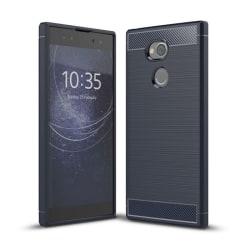Borstat silikon TPU skal Sony Xperia XA2 Ultra (H4213) Blå