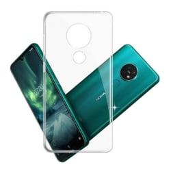 Silikon skal transparent Nokia 7.2 (TA-1178)