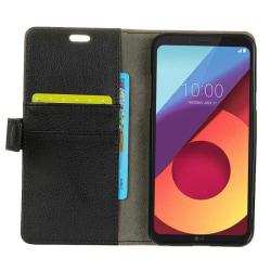 Mobilplånbok 2-kort LG Q6 (M700A) Svart