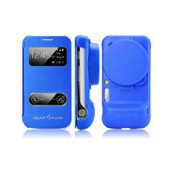 Flipfodral Samsung Galaxy S4 Zoom (C1010) Mörkblå