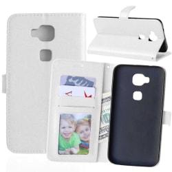 Mobilplånbok 3-kort Huawei Honor 5X (KIW-AL10) Vit