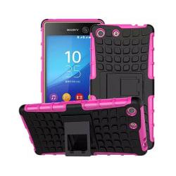 Stöttåligt skal med ställ Sony Xperia M5 (E5663) Rosa