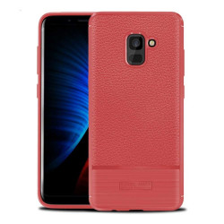 Rugged Armor TPU skal Samsung Galaxy A8 Plus 2018 (SM-A730F) Röd