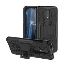 Stöttåligt skal med ställ Nokia 6.1 Plus (TA-1083) Svart