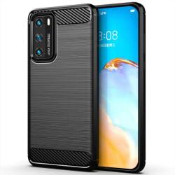 Borstat silikon skal Huawei P40 Pro (ELS-AN00)