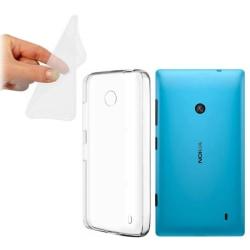 Silikon skal transparent Nokia Lumia 520/525 (RM915)