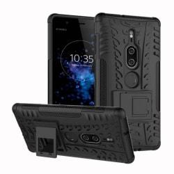 Stöttåligt skal med ställ Sony Xperia XZ2 Premium (H8166) Svart