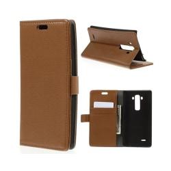 Mobilplånbok 2-kort LG G Flex 2 (H955) Brun
