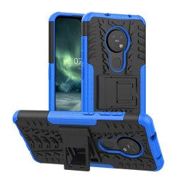 Stöttåligt skal med ställ Nokia 7.2 (TA-1178) Blå