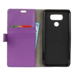 Mobilplånbok 2-kort LG V40 ThinQ (LM-V405) Lila
