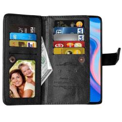 Dubbelflip Flexi 9-kort Huawei P Smart Z (STK-LX1) Svart