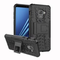 Stöttåligt skal med ställ Samsung Galaxy A8 Plus 2018 (SM-A73 Svart