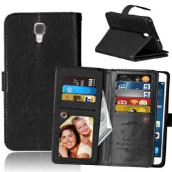 Dubbelflip Flexi 9-kort LG X Screen (K500N) Svart