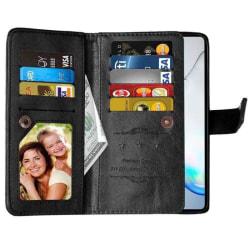 Dubbelflip Flexi 9-kort Samsung Galaxy Note 10 Lite (SM-N770F) Svart