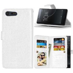 Dubbelflip Flexi 9-kort Sony Xperia XZ Premium (G8141) Vit