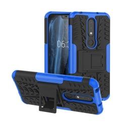 Stöttåligt skal med ställ Nokia 6.1 Plus (TA-1083) Blå