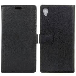 Mobilplånbok 2-kort Sony Xperia XA Ultra (F3211) Svart