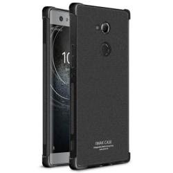 IMAK Shockproof silikon skal Sony Xperia XA2 Ultra (H4213) Matt Svart