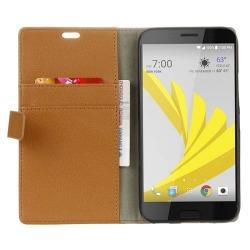 Mobilplånbok 2-kort HTC 10 EVO Brun