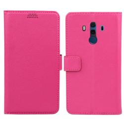 Mobilplånbok 2-kort Huawei Mate 10 Pro (BLA-L29) Rosa