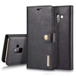 Mobilplånbok DG-Ming 2i1 Samsung Galaxy A6 Plus (SM-A605F) Svart