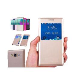 FlipCover Samsung Galaxy E7 (SM-E700) Vit