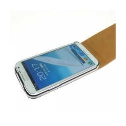Flipfodral Samsung Galaxy Note 2 (GT-N7100) Svart