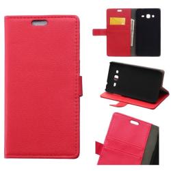 "Mobilplånbok 2-kort Alcatel Pixi 4 (4.0"") Röd"