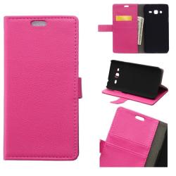 "Mobilplånbok 2-kort Alcatel Pixi 4 (4.0"") Rosa"